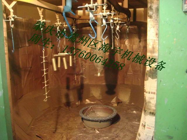 供应自行车、木器工艺品圆盘型自动静电喷漆机