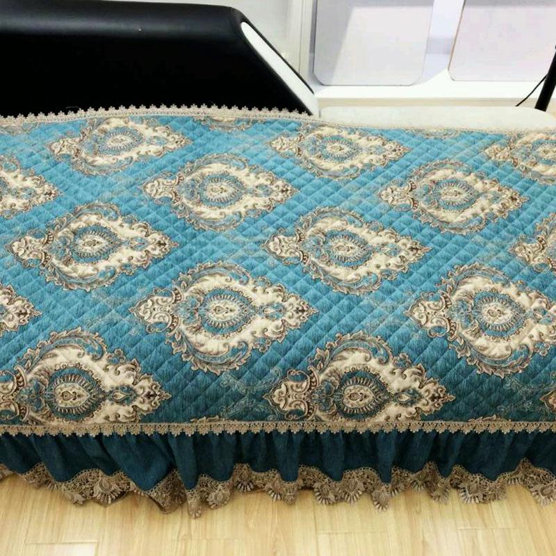 沙發墊布藝全棉布料田園四季防滑沙發套罩簡約現代沙發巾墊子夏季圖片