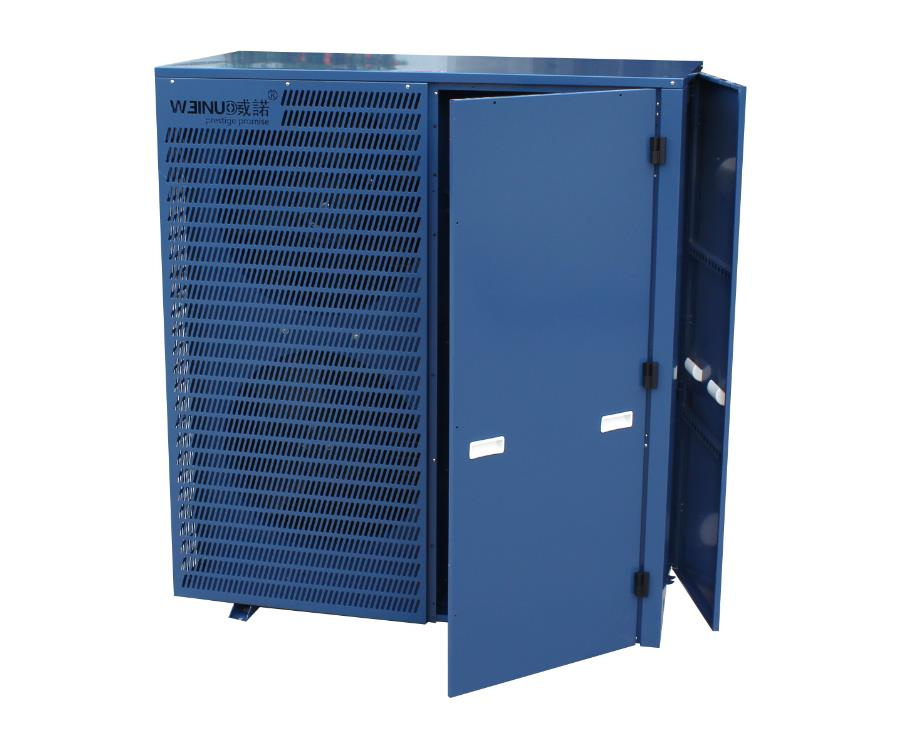 大型10匹水产养殖恒温机  开门式设计