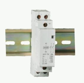 【网库商家】供应模数化家用小型导轨式安装交流接触器 图片 批发价格