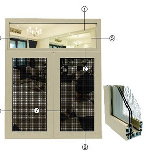 重型推拉窗 系列 龙铝供应 龙铝铝型材 厂家零售 批发 江西 安义