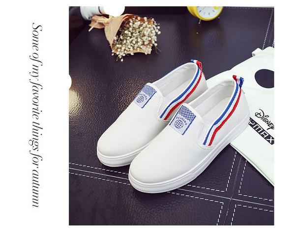 包邮明星同款小白鞋女休闲帆布鞋女鞋子韩版学生球鞋平底情侣板鞋图片