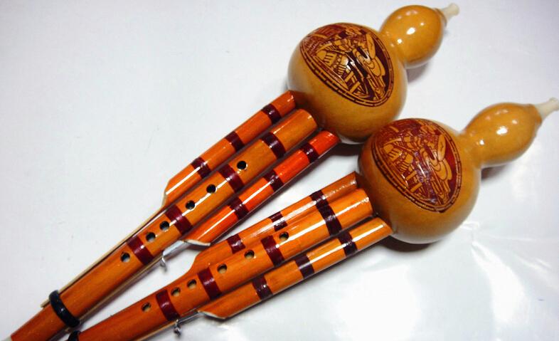 供应 绑线双音雕图葫芦丝 葫芦丝