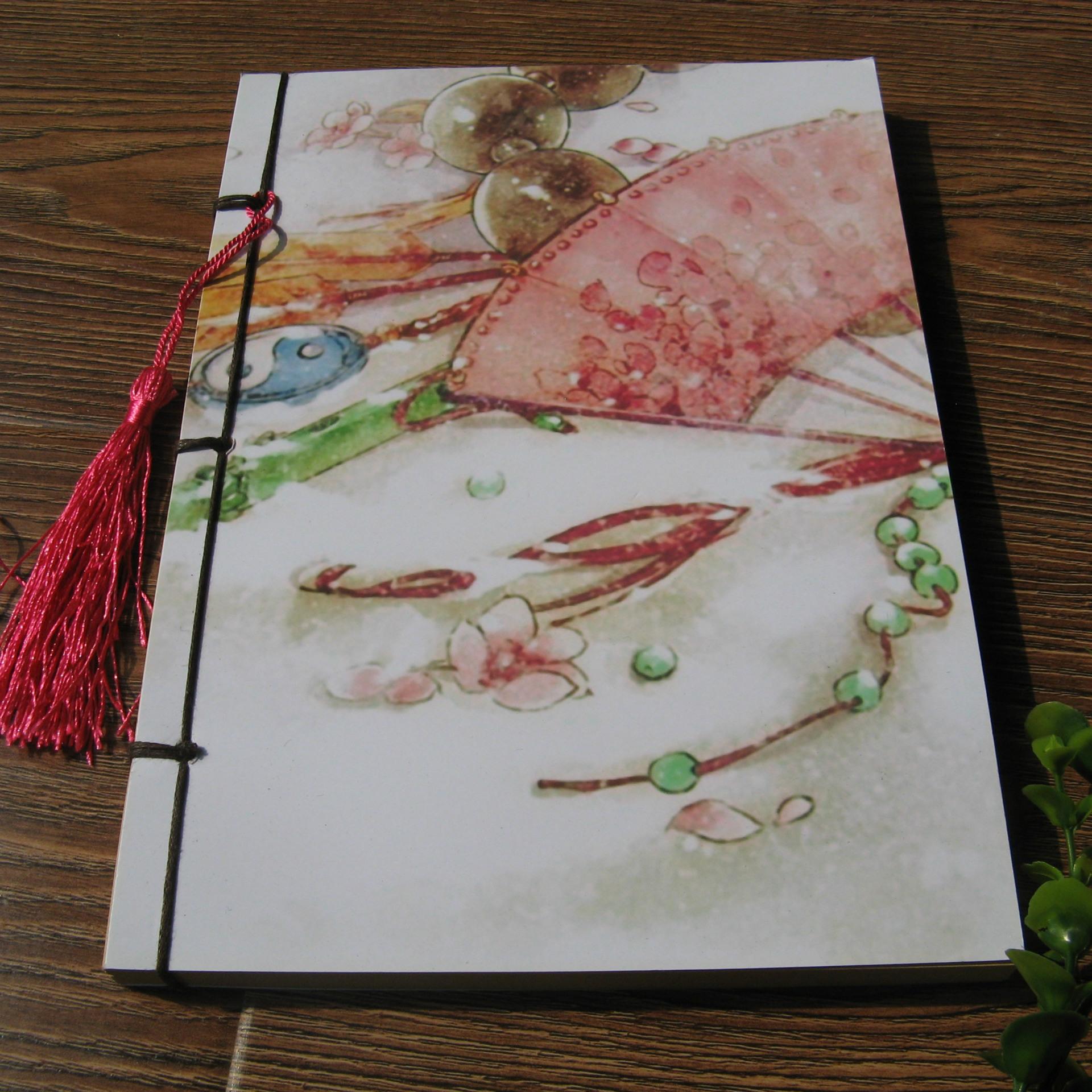 中国古风 手工线装本 笔记本 记事本 诗词歌赋手抄本 之 羽扇纶巾
