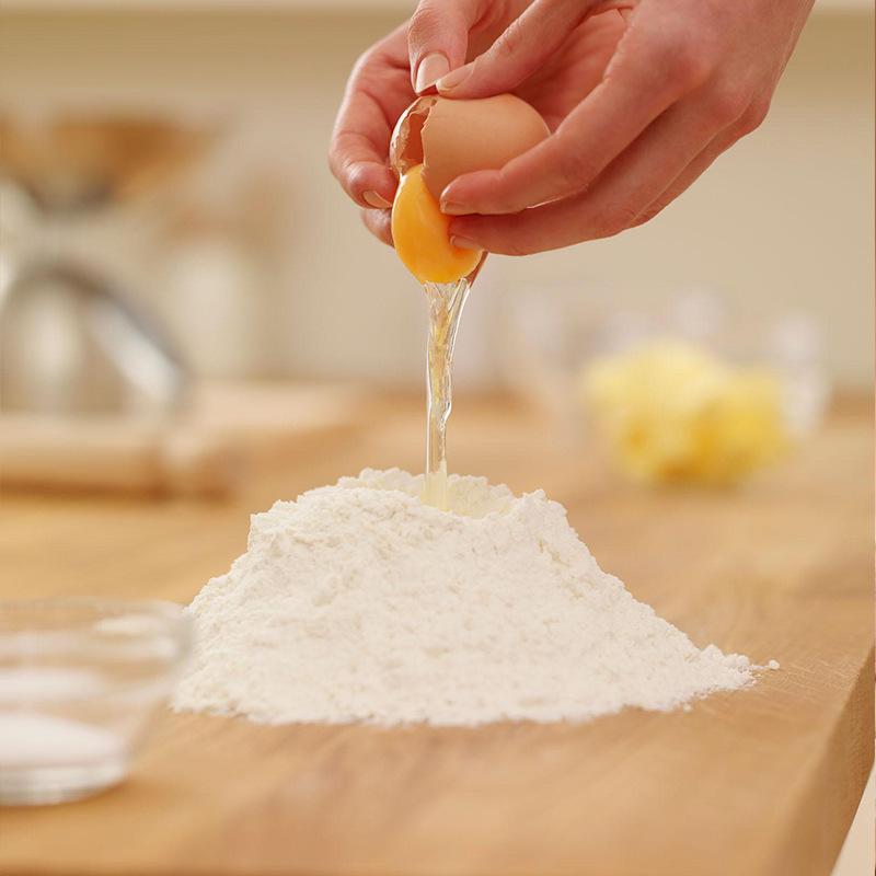 切面面粉1号切红糖高级白面粉25kg装118面粉v切面小麦粉精粉玫瑰集团酱的制作方法图片