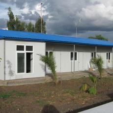 内蒙赤峰活动房批发价格环保钢结构彩钢房qhcg-002