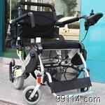 上海康蒂超轻锂电太阳能便携式电动轮椅