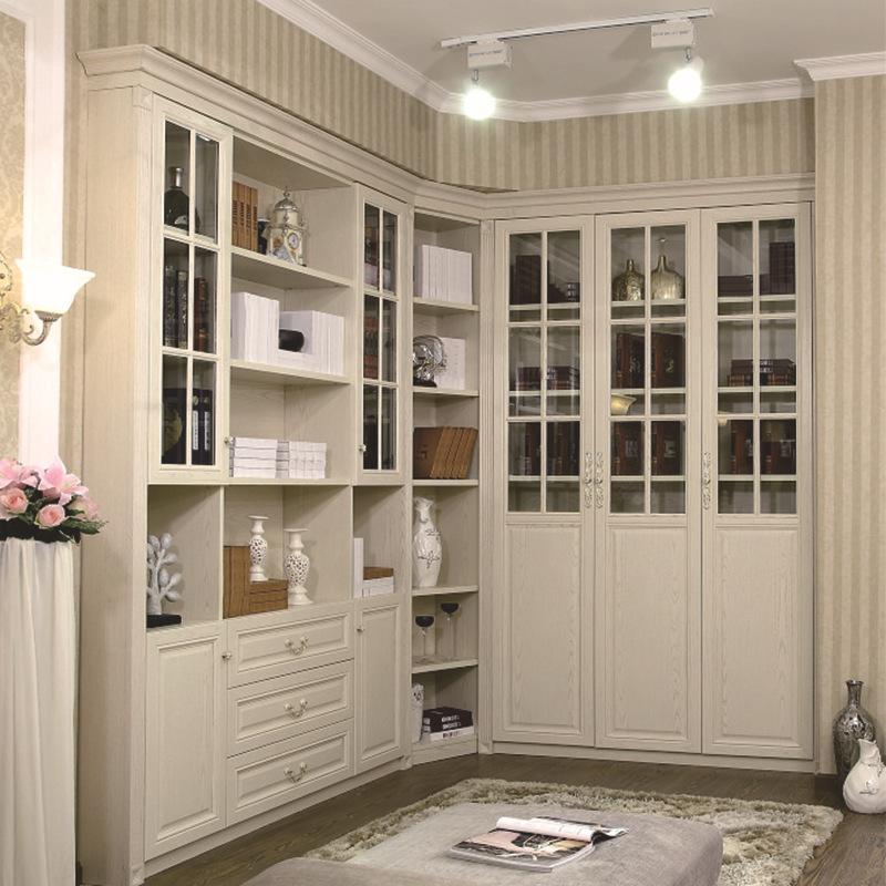 现代简约时尚衣柜惠家定制衣柜卧室客厅家具衣帽间 整体衣柜定制