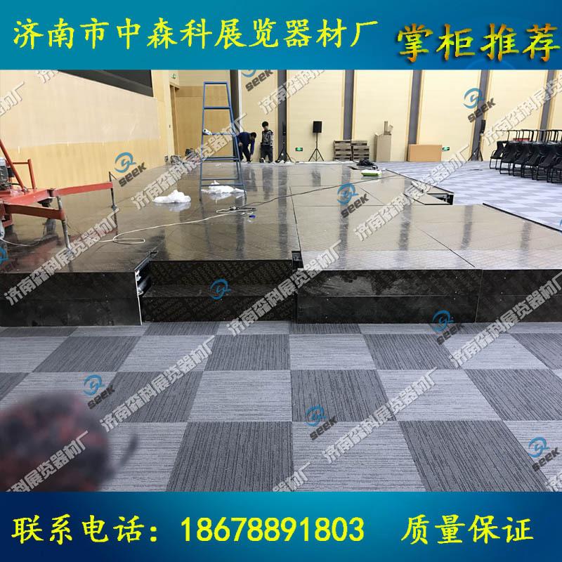 钢铁舞台婚庆舞台舞台尺寸承重济南出售演出舞台