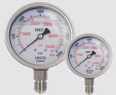 深圳嘉力 JL超高压压力表 径向油压表 轴向带边高压表
