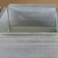 康杰单面彩钢酚醛复合保温风管价格近况 彩钢风管 批发价