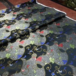 供应 丝绸 真丝三五 高档织锦缎 旗袍面料