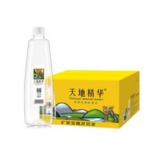 天地精华矿泉水1箱(400毫升*20瓶)家庭饮用水