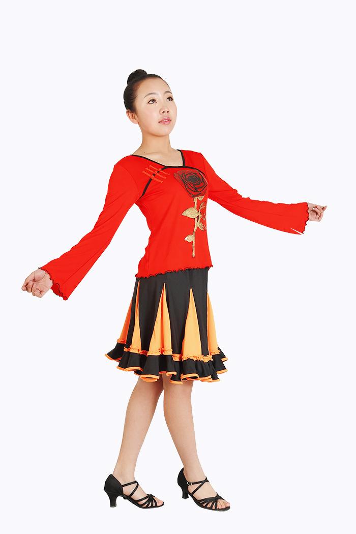 厂家直销儿童民族舞服装儿童练习表演莫服装 代尔舞蹈图片