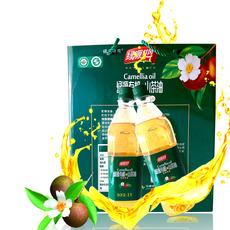 供应 绿源井冈有机山茶油每瓶1L共两瓶 送礼佳品礼盒装