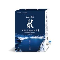 长白山林海泉袋装天然偏硅酸矿泉水5L