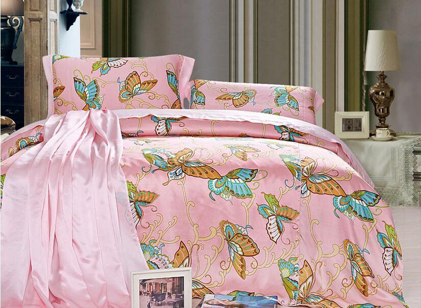 新款送礼桑蚕丝订做真丝四件套素绉缎床单被套枕套丝绸床品豪华款