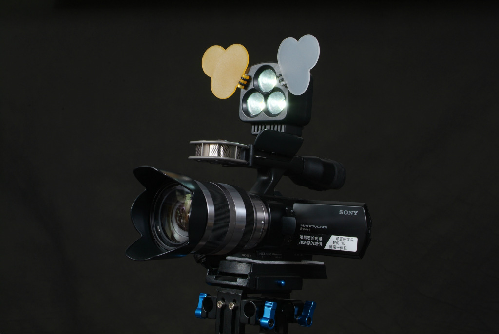 led摄像灯摄影灯t3