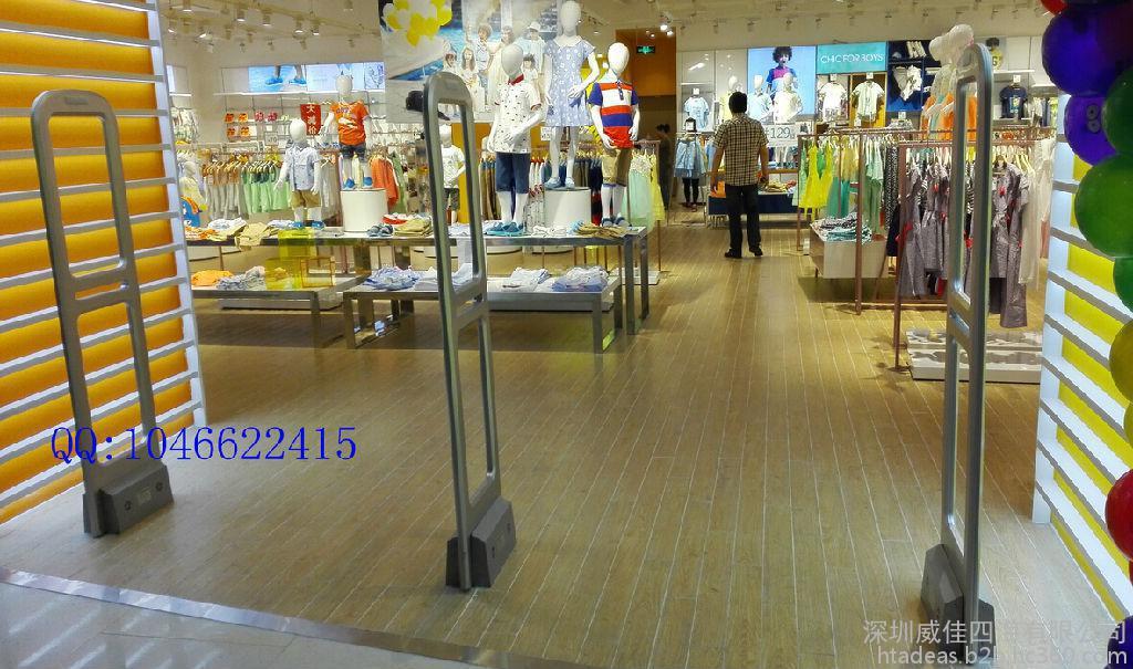 深圳商场安检门 深圳超市声磁防盗门超市防盗设备安装