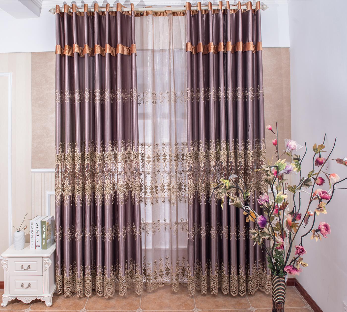 客厅窗帘布
