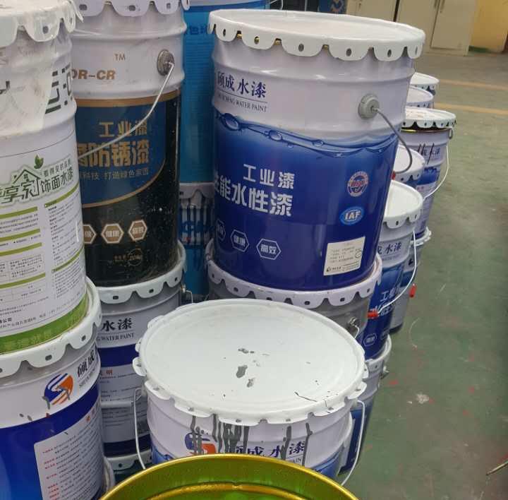 塑料水漆生产