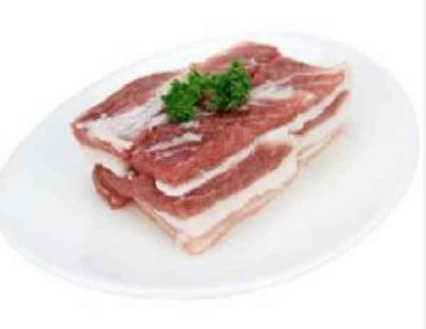 营养健康黑猪肉