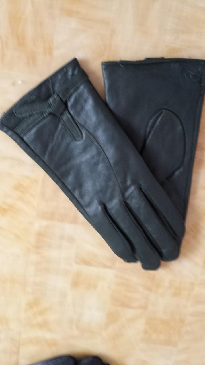 厂家直销2015女士整皮蝴蝶结羊皮超柔内里手套外贸手套