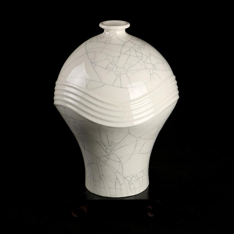 供应热销 千瓷阁旋律瓶 艺术花瓶 色釉陶瓷瓶装饰摆件直销