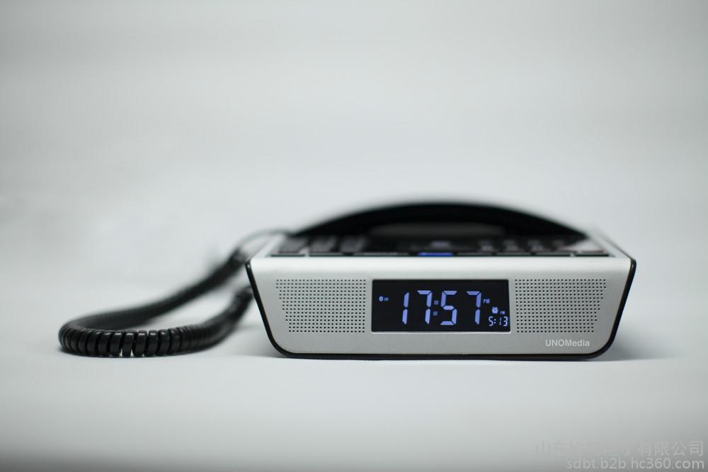 比特音响多媒体UNOMedia5酒店客房多媒体电话机厂家音响闹钟收音机蓝牙对讲NFC0