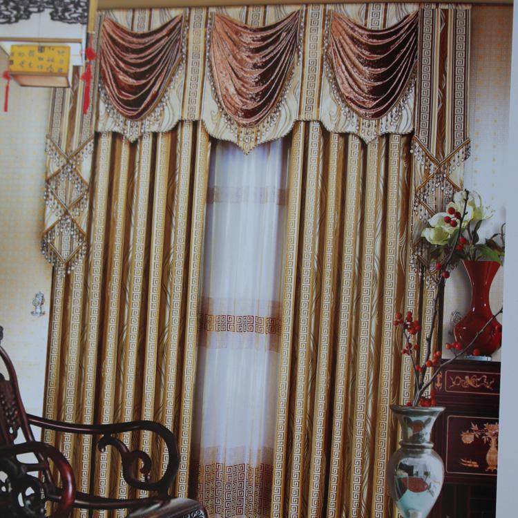 艾菲幔窗帘布艺豪华欧式窗帘12