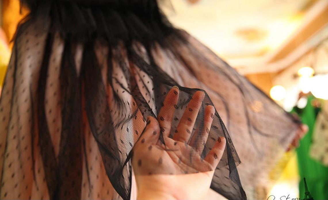 欧洲站韩国代购复古优雅OL层层网纱水钻女神蓬蓬礼服连衣裙