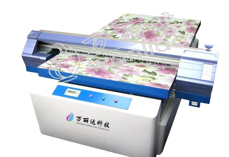 供应万丽达UV平板打印机 UV平板彩印机 UV平板印花机厂家