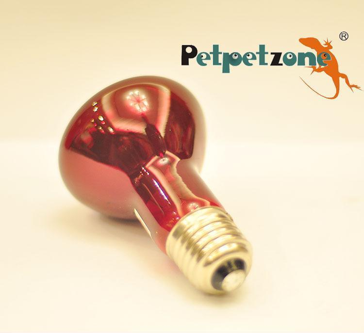 Petpetzone爬虫红外加热灯 宠物取暖灯R63 40W 厂家直销 大量批发