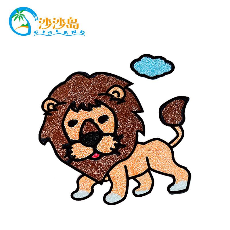 深圳市沙沙岛科技有限公司 产品供应 > 厂价批发 儿童泡沫粒子贴画diy