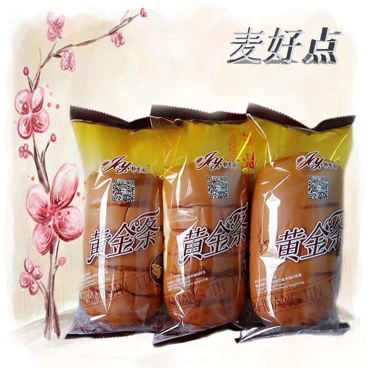 麦好点厂家直销老面包黄金条面包整箱包邮早餐零食小面包