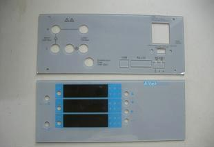 厂家供应仪器面板 各类电器视窗镜片 pmma 亚克力pc 切割丝印等图片