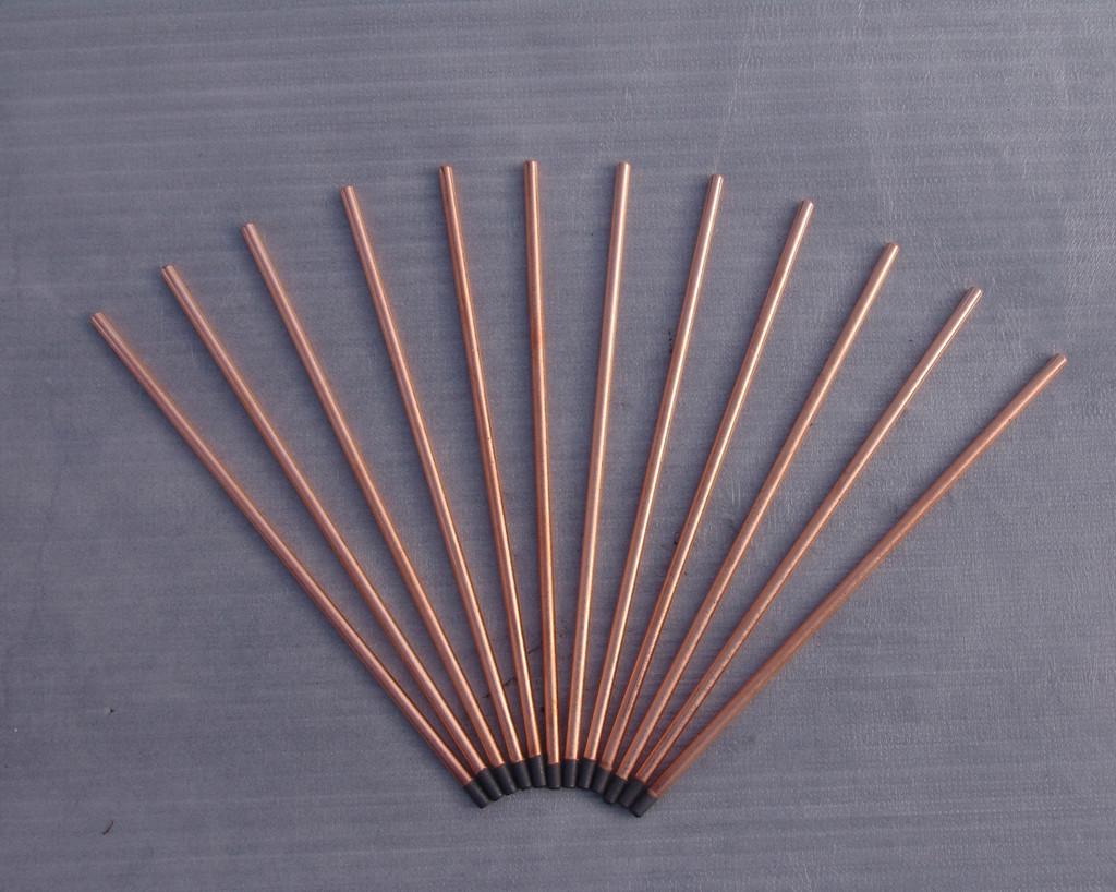 圆形x305碳棒碳棒设备气刨碳棒气刨棒电压改镀铜图片