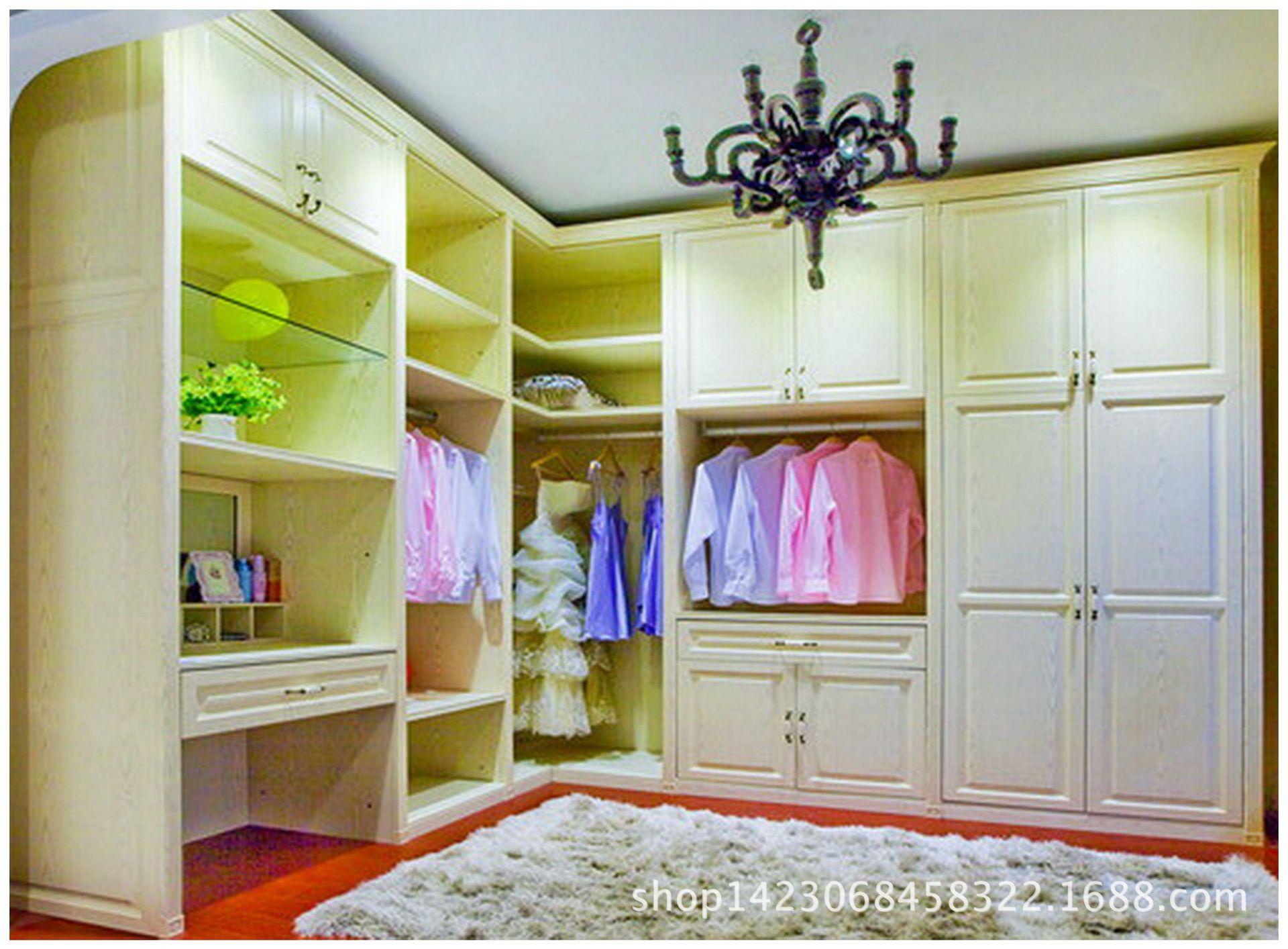 建材 厨房设施 厨房壁橱,橱柜 简欧pvc模压门板 订制衣柜橱柜酒柜书柜