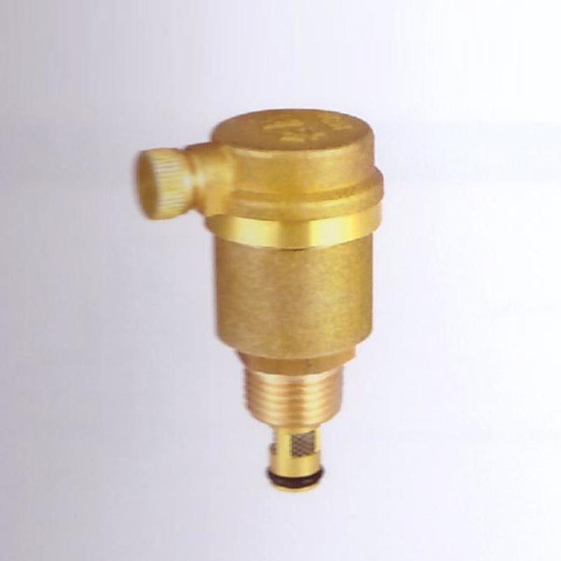 自动排阀规格型�_名盾黄铜排气阀 筒式顶采暖排气阀 自动泄气阀 管道水管放气阀