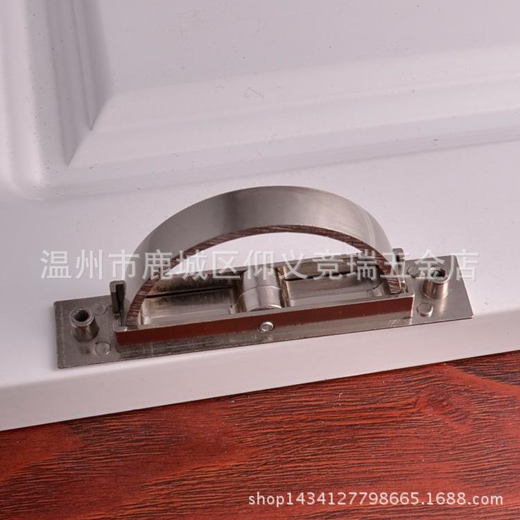 日式储藏柜隐藏柜榻榻米拉手 暗装柜子抽屉柜门把手图片