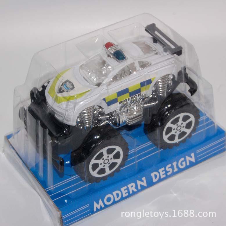 越野惯性警车 儿童玩具车 惯性车 越野车 仿真警车
