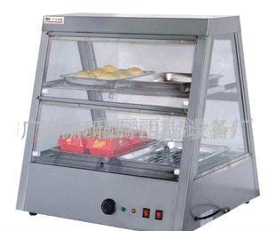 双层陈列保温保湿柜 面包屋 糕点(图)