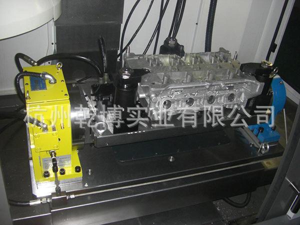 数控分度头 轨道油回收装置 电气箱空调器 加工吹气装置 主轴油冷 中图片