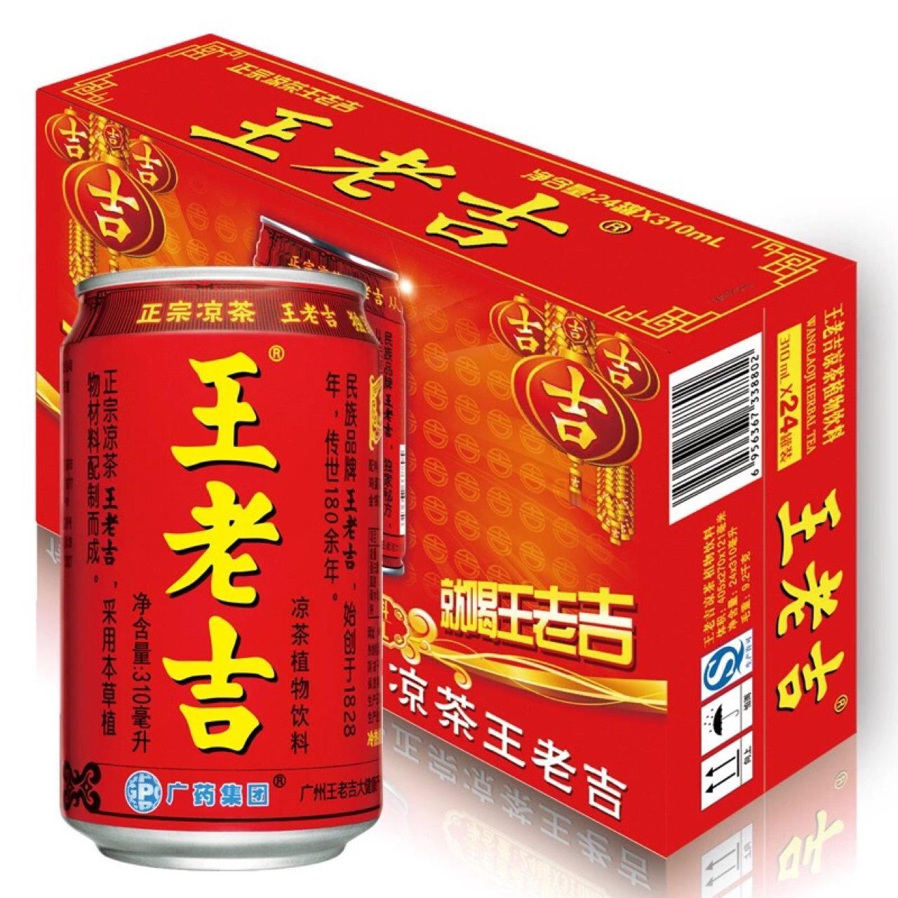 商超餐饮 饮料专供 听装 王老吉凉茶 1-20-310ml图片