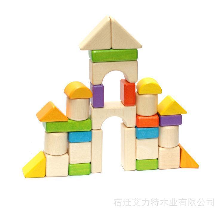 优质优惠各种拼装玩具积木木制娃娃积木益智积木积木供应口腔血泡里面有个特价图片