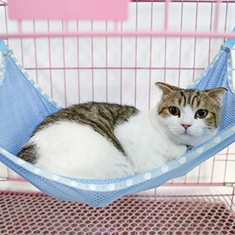松鼠 狗狗 猫吊床 猫笼床春夏透气猫咪铁笼挂床幼猫秋千睡床特价