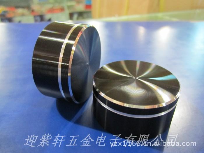金属旋钮 多圈电位器帽 音量调节 铝旋钮 滚花旋钮塑料外壳