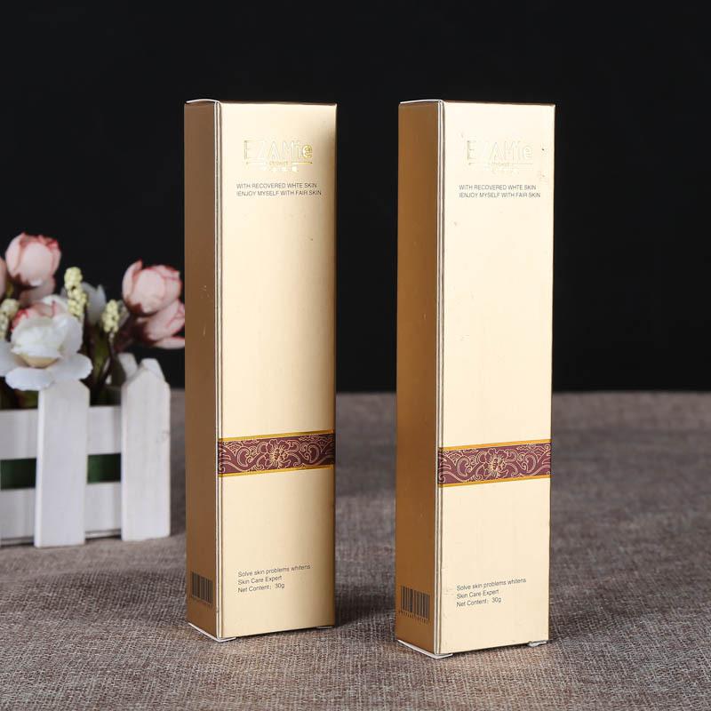控油洗面奶纸盒包装定做 化妆品产品包装盒 产品说明书印刷设计