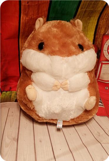 日单amuse超可爱仓鼠毛绒玩具公仔 圆滚滚的胖仓鼠毛绒玩具图片