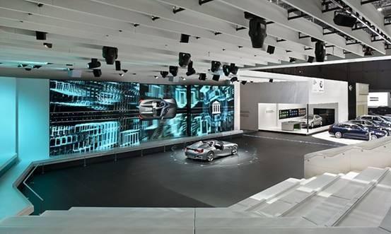 深圳定制展示设计展览展台企业展厅展台设计搭建图片